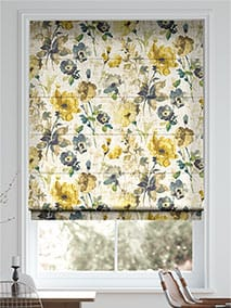 Fiori Linen Daffodil Roman Blind thumbnail image