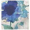 Fleur Sea Breeze Roman Blind swatch image