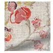 Floral Ink Linen Vintage Rose swatch image