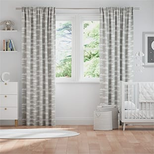 Fluffy Clouds Grey Curtains thumbnail image