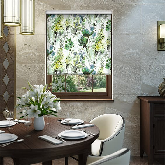 Foxglove Evergreen Roller Blind