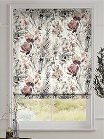 Foxglove Linen Rose Blush Roman Blind thumbnail image