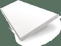 Frost White Faux Wood Blind - 35mm Slat slat image
