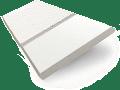 Frost White & Linen Faux Wood Blind - 50mm Slat slat image