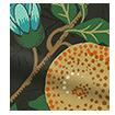 William Morris Fruit Ebony Roman Blind slat image
