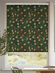 William Morris Fruit Ebony Roller Blind thumbnail image
