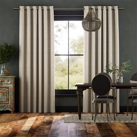 Fustian Bisque Curtains
