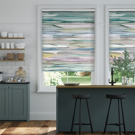 Galatea Blackout Opal Roller Blind