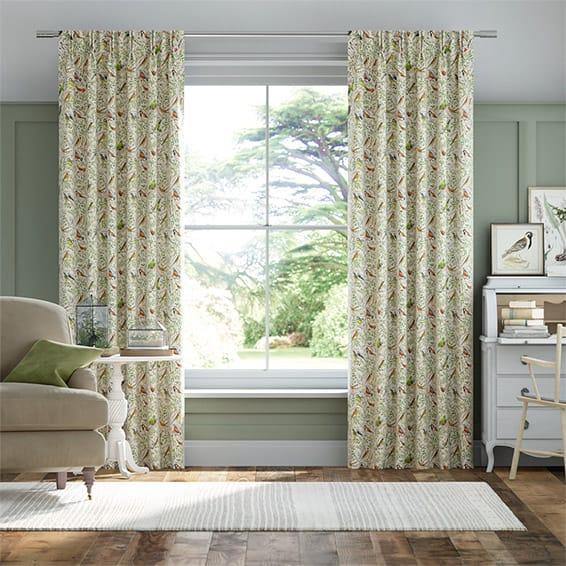 Garden Birds Multi Curtains