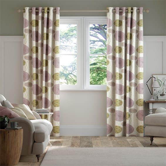 Gardenia Byzantium Curtains