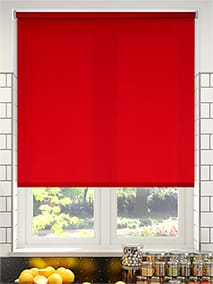 Valencia Simplicity Red Roller Blind thumbnail image