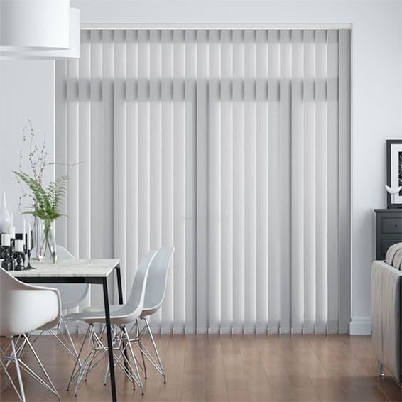 Valencia Grey Vertical Blind
