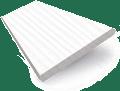 Glacier White Faux Wood Blind - 50mm Slat slat image