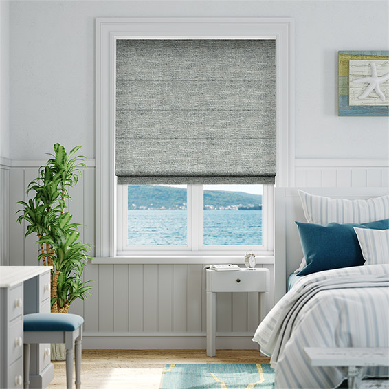 Glencoe Granite  Roman Blind