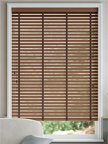Rich Walnut and Antique Walnut Wooden Blind thumbnail image
