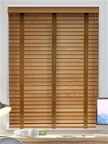 Golden Oak & Pecan Wooden Blind thumbnail image