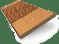 Golden Oak & Pecan Wooden Blind swatch image