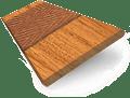 Warm Oak & Tan Wooden Blind swatch image