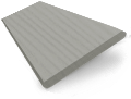 Granite Madera Faux Wood Blind - 50mm Slat slat image