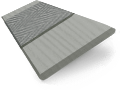 Granite Madera & Lazulite Faux Wood Blind - 35mm Slat slat image