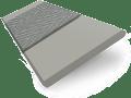 Granite Suave & Lazulite Faux Wood Blind - 35mm Slat slat image