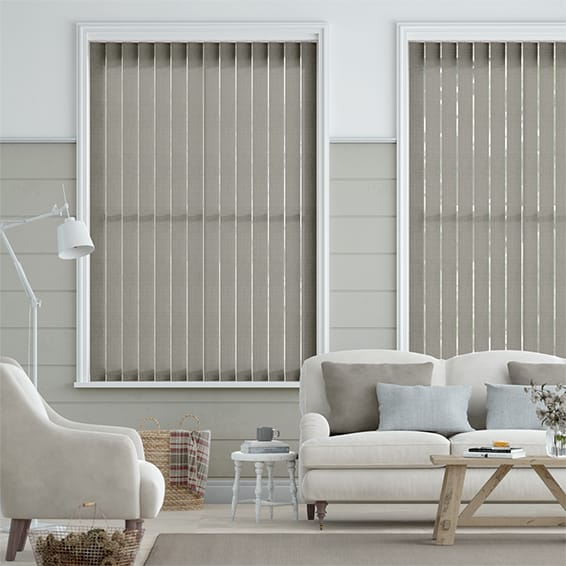 Grazia Storm Grey  Vertical Blind