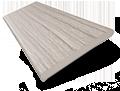 Metropolitan Grey Mist Wooden Blind - 50mm Slat sample image