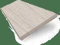 Grey Wash Faux Wood Blind - 50mm Slat sample image