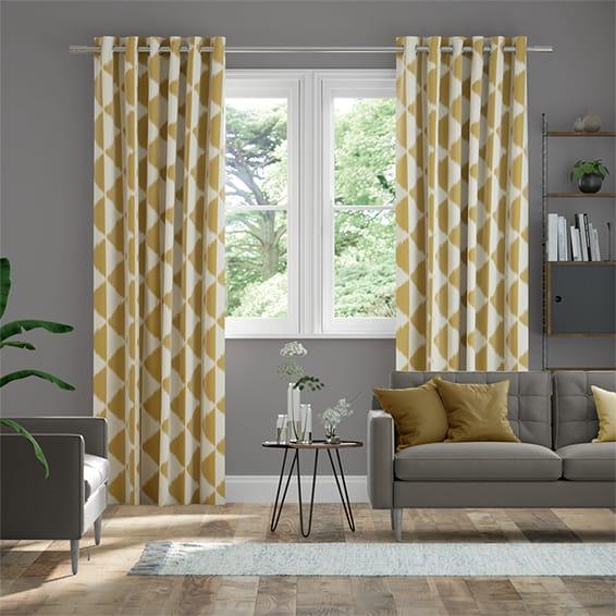 Habutai Cumin Curtains