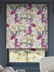 Hadley Linen Vintage Violet Roman Blind thumbnail image