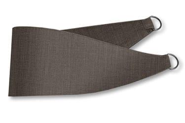 Harrow Grey Taupe Curtains - Tiebacks