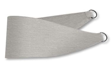 Harrow Grey Wash Curtains - Tiebacks