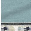 Choices Harrow Lagoon Blue & Henley Roller Blind sample image