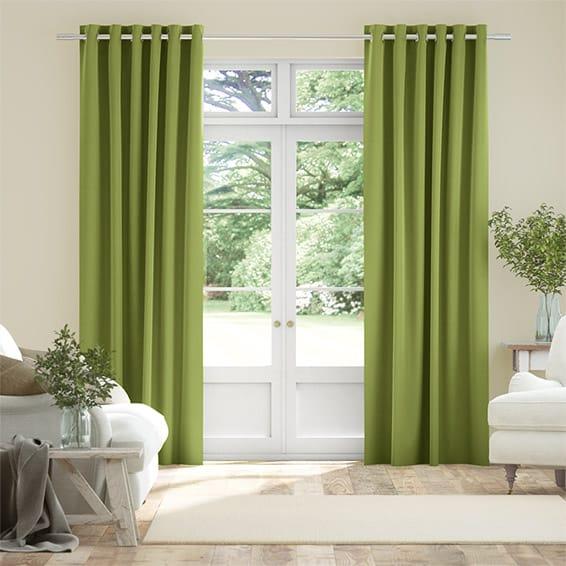 Harrow Lime Curtains