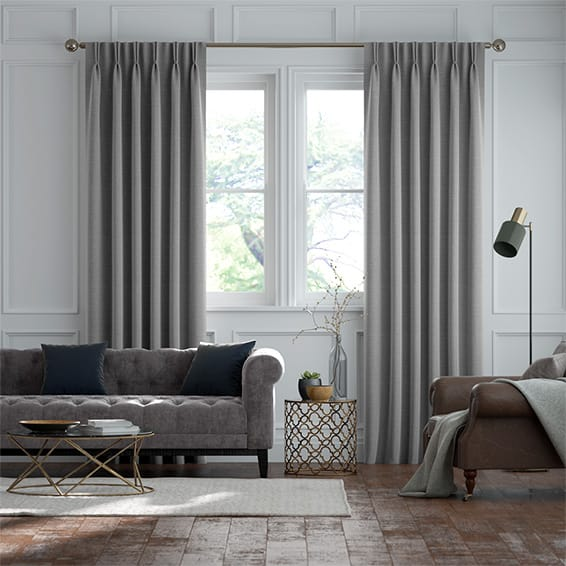 Harrow Mid Grey Curtains