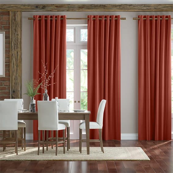 Harrow Pumpkin Spice Curtains