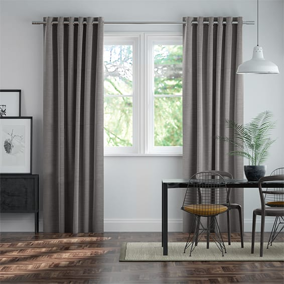 Harrow Tonal Grey Curtains
