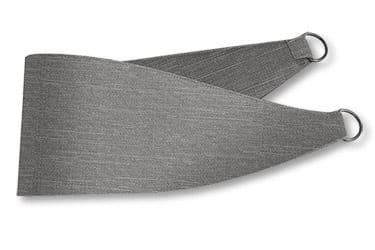Harrow Tonal Grey Curtains - Tiebacks