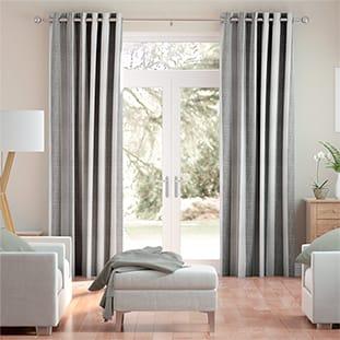 Hathaway Rustic Grey Curtains thumbnail image