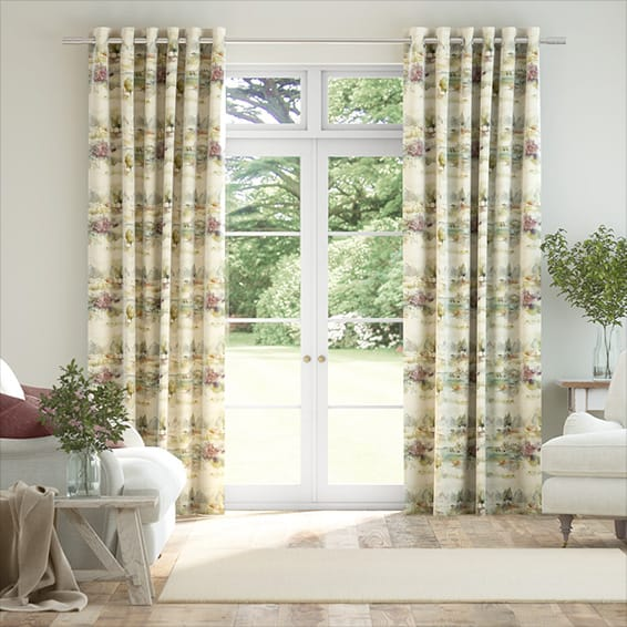 Heather Moors Linen Curtains