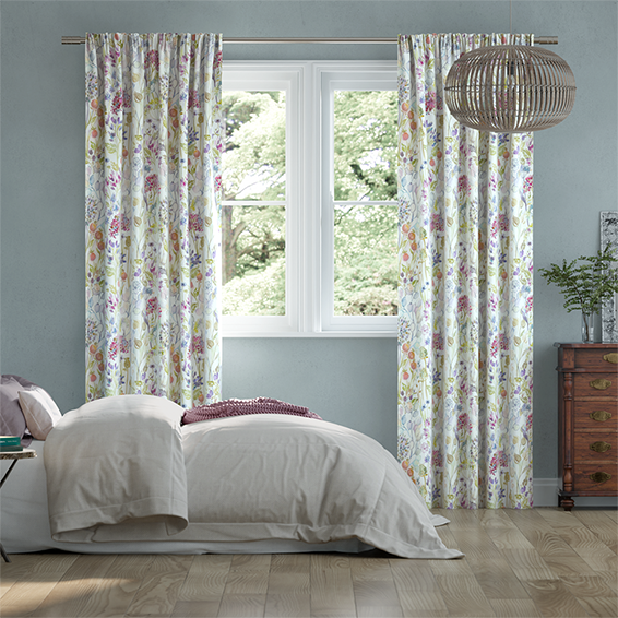 Hedgerow Cream Curtains