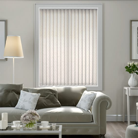 Helva Cream Vertical Blind
