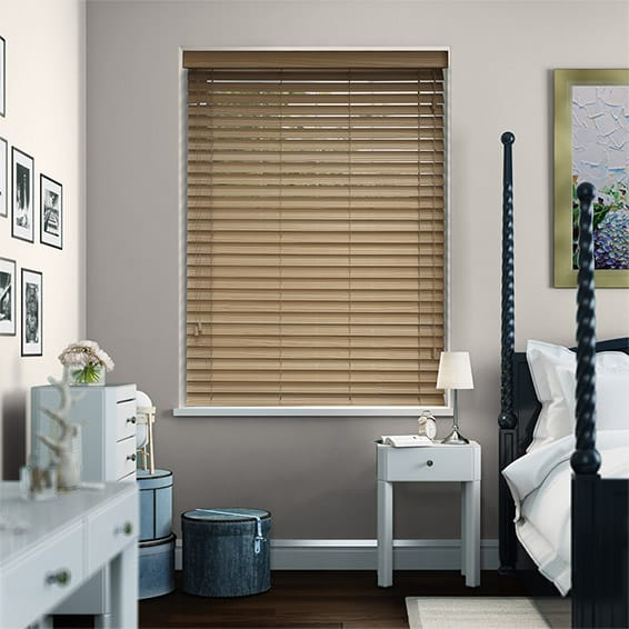 Hickory Wooden Blind - 50mm Slat
