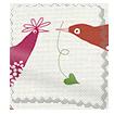 Hygge Birds Summer Berry Roller Blind slat image