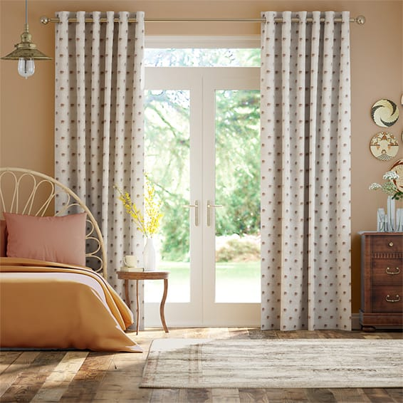Indian Elephants Curtains