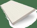 Ivory Lace Faux Wood Blind - 50mm Slat slat image