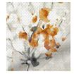 Jackson Linen Pumpkin Roman Blind swatch image