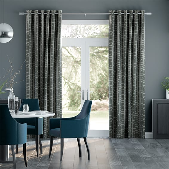 Julius Iron Grey Curtains