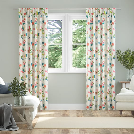 Juniper Rhubarb Curtains
