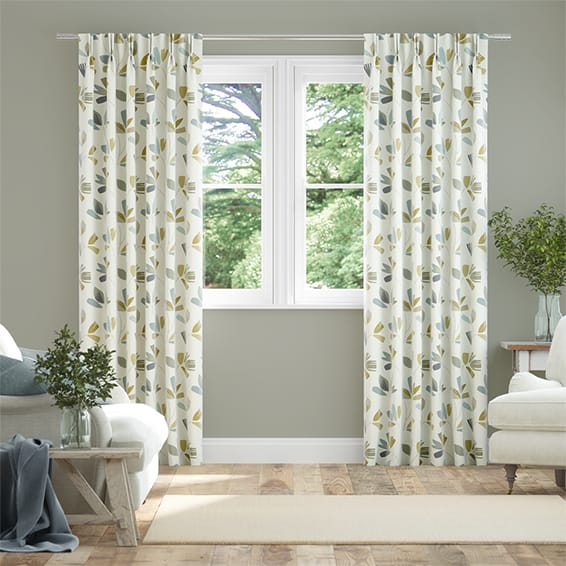 Juniper Slate Curtains